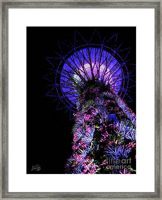 Towering Framed Print by Alina Davis