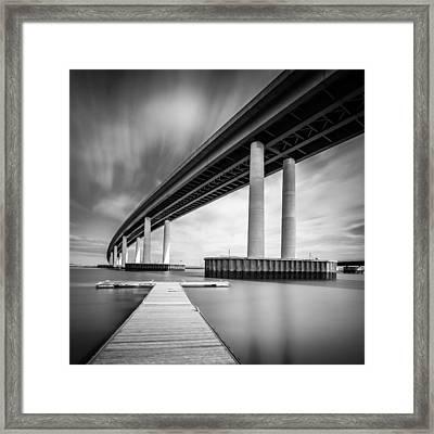Towering Bridge Framed Print