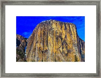 Towering El Capitan Framed Print by Garry Gay