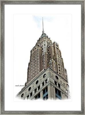 Towering Framed Print