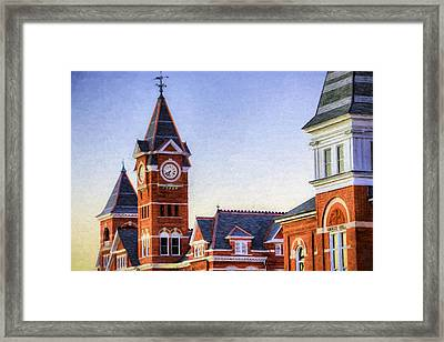 Towering Over Auburn Framed Print by JC Findley