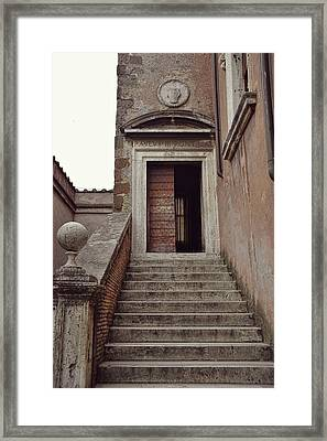 Towering The Castel Framed Print by JAMART Photography
