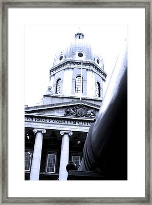Towering War Framed Print by Jez C Self