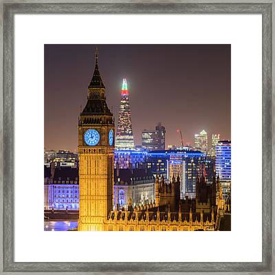 Towers Of London Framed Print
