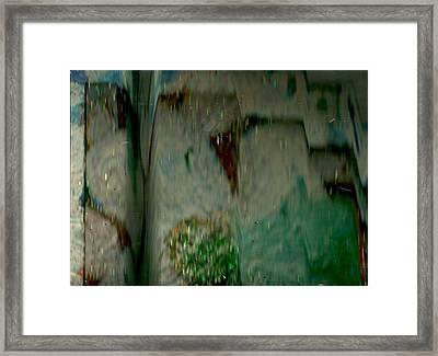 Towers Of My Mind Framed Print by Anne-Elizabeth Whiteway