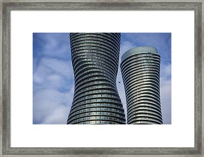 Towers Framed Print by Rob Andrus