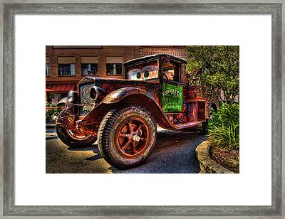 Towmater Framed Print by Andrew Armstrong  -  Mad Lab Images
