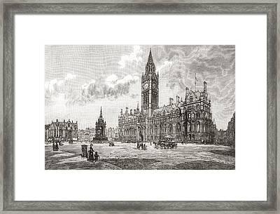 Town Hall, Albert Square, Manchester Framed Print