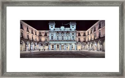 Town Hall Avila Framed Print by Joan Carroll