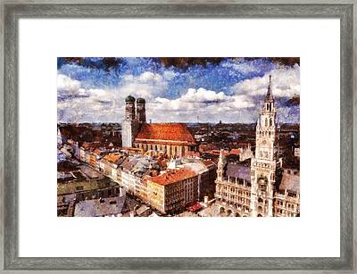 Town Hall. Munich Framed Print