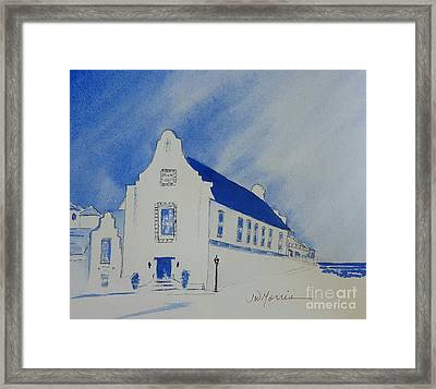 Town Hall, Rosemary Beach Framed Print