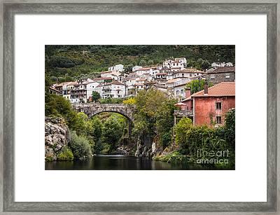 Town Of Avo Framed Print