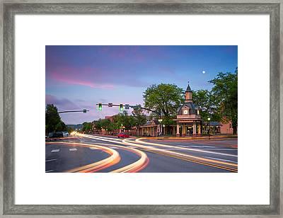 Towndown  Beaver  Framed Print by Emmanuel Panagiotakis