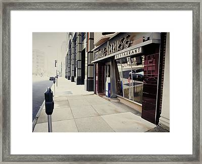 Townehouse Framed Print by Randy Ford
