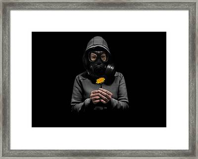 Toxic Hope Framed Print by Nicklas Gustafsson