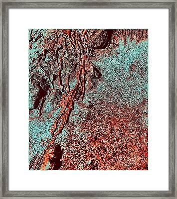 Toxic Sand-r Framed Print