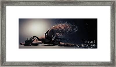 Toxic Framed Print