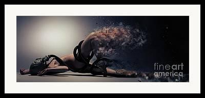 Fumes Framed Prints