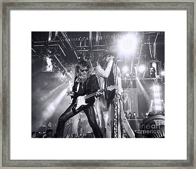 Toxic Twins Framed Print