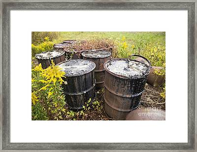 Toxic Waste Framed Print