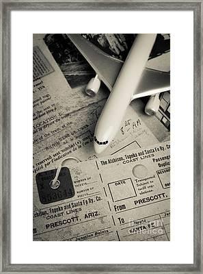 Toy Airplane II Framed Print