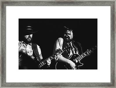Toy And George In Spokane Framed Print by Ben Upham