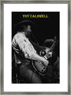 Toy Caldwell In Spokane 3 Framed Print by Ben Upham