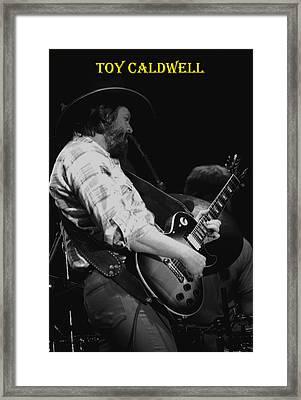 Toy Caldwell In Spokane 3 Framed Print