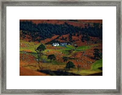 ...toy Cottage... Framed Print