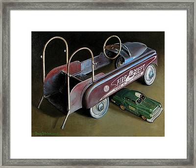 Toy Crossroads Framed Print by Doug Strickland