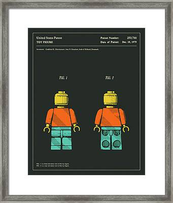 Toy Figure Patent 1979 Framed Print