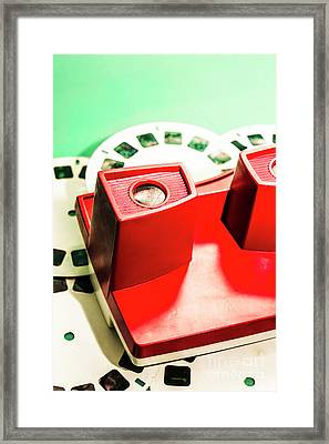 Toy Photo Film Viewer  Framed Print