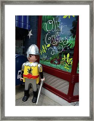 Toy Soldier 2016 Framed Print