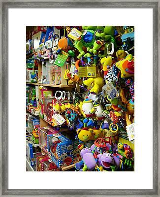 Toy Story Framed Print by Robert Boyette