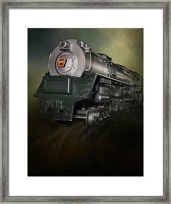 Toy Train Framed Print