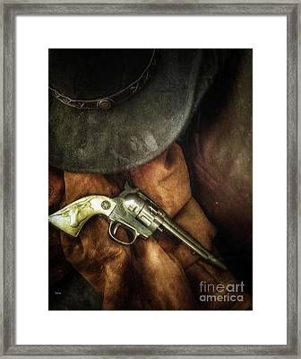 Toy West  Framed Print by Steven Digman
