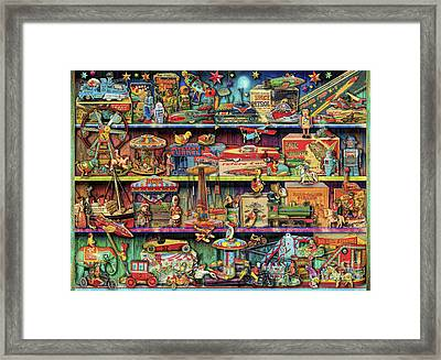 Toy Wonderama Framed Print by Aimee Stewart