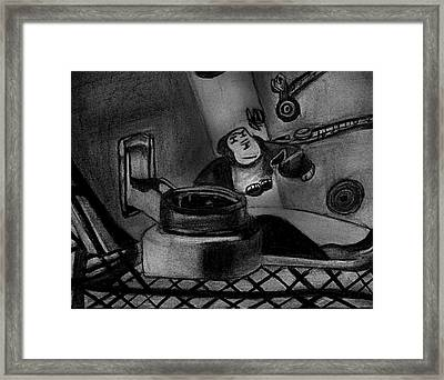Toy Zoo Framed Print