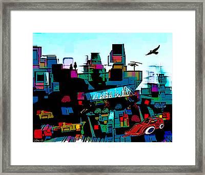 Toyland Framed Print by Sabine Stetson