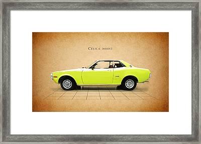Toyota Celica 1600 St Framed Print by Mark Rogan