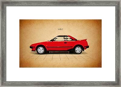 Toyota Mr2 Framed Print