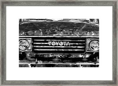 Toyota Truck Framed Print by Lyle  Huisken