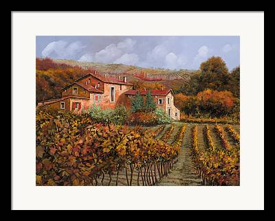 Wine Country Framed Prints