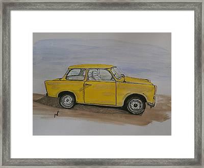 Trabant Framed Print by Maria Woithofer
