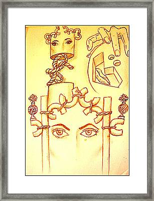 Traces Of Dreams Framed Print by Paulo Zerbato