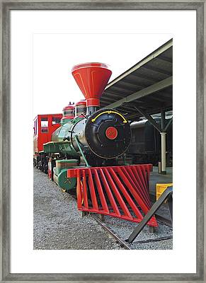 Track 29 Framed Print by Marian Bell