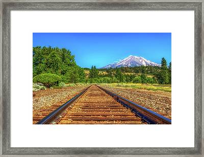 Tracking The Lemurians  Framed Print