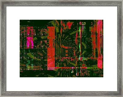 Tracking The Monsoon Framed Print by Fania Simon