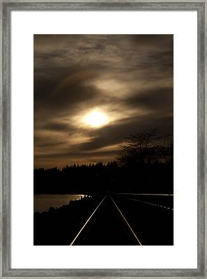 Tracking The Sun Framed Print