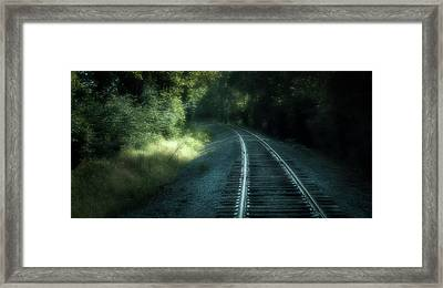 Tracks Through Time Framed Print